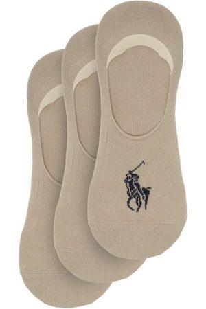 Polo Ralph Lauren Pack Of Three Cotton-blend Liner Socks - Mens