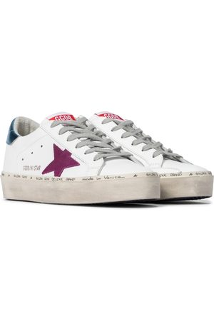 Golden Goose Hi Star leather sneakers