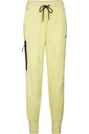 Nike Tech Fleece cotton-blend trackpants