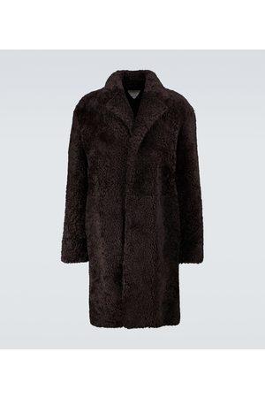 Bottega Veneta Shearling long coat
