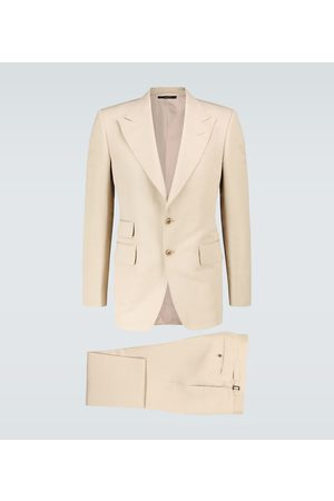 Tom Ford Shelton cotton and silk-blend suit