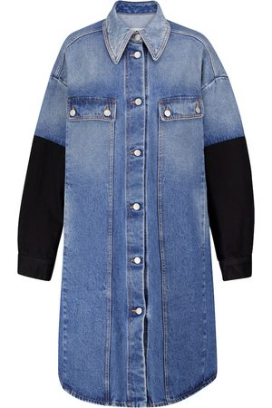 MM6 MAISON MARGIELA Colorblocked denim jacket