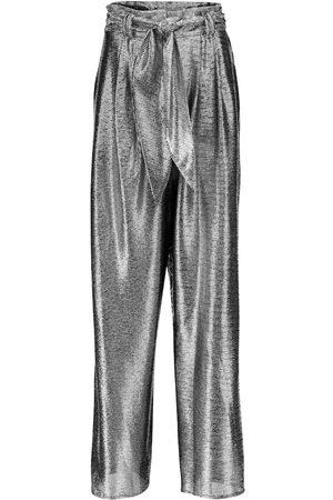 Christopher Kane Metallic wide-leg pants