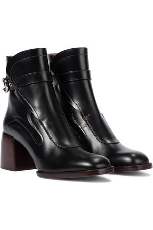Chloé Gaile leather ankle boots
