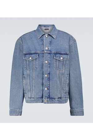 Balenciaga Large-fit denim jacket