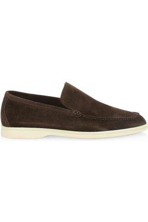 Loro Piana Men's Summer Walk Suede Loafers - - Size 45 (12)