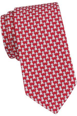 Salvatore Ferragamo Men's Man Car Silk Tie