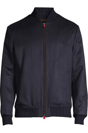 Kiton Men's Reorder Silk Bomber Jacket - - Size 52 (34)
