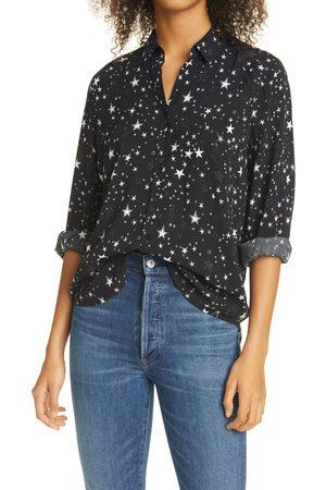 Rails Women's Noemi Star Print Long Sleeve Shirt