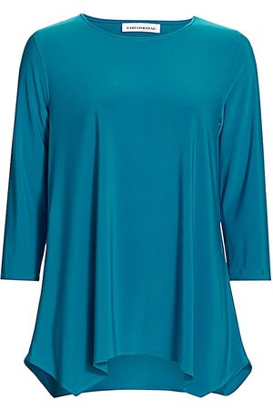 Caroline Rose Women's Easy Does It Stretch-Knit Swing Top - - Size Large