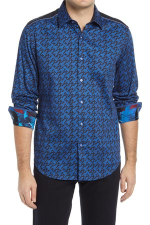 Robert Graham Men's X Marvel Captain In Charge Long Sleeve Button-Up Shirt