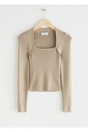 & OTHER STORIES Women Long sleeves - Long Sleeve Tubular Neck Sweater