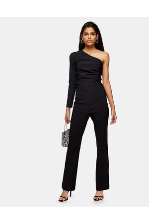 Topshop Tailored flare pants in