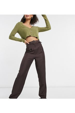 ASOS ASOS DESIGN Tall belted slouchy dad pant in