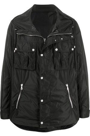 Balmain Zip-front drawstring jacket