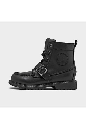 Polo Ralph Lauren Boots - Kids' Toddler Ranger High II Lace-Up Boots in Size 5.0 Leather