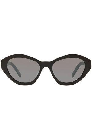 Saint Laurent SL M60 cat-eye frame sunglasses - Grey