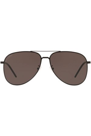 Saint Laurent Classic 11 Slim aviator-frame sunglasses
