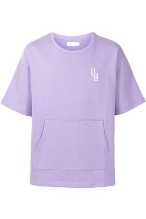 Off Duty Logo-print short-sleeved T-shirt