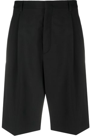 VALENTINO Pleat-detail Bermuda shorts