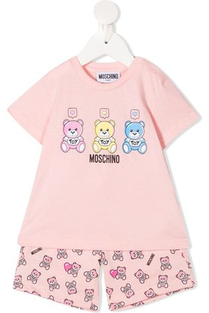 Moschino Teddy print two-piece