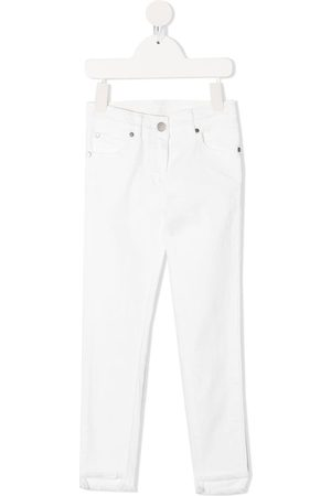 Stella McCartney Girls Skinny - Raw-cut skinny jeans