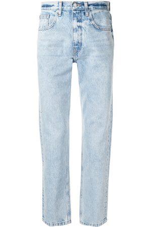 Alexander Wang Logo-patch denim jeans