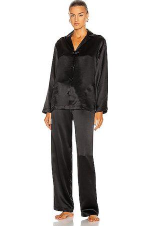 La Perla Silk Long Pajamas in