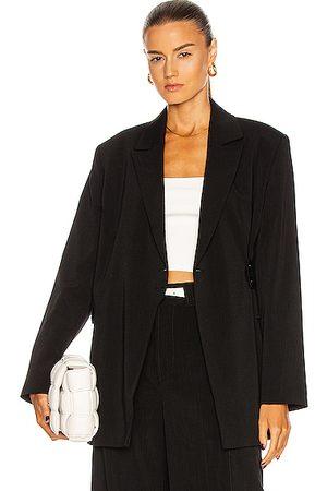 Ganni Women Blazers - Melange Suiting Blazer in
