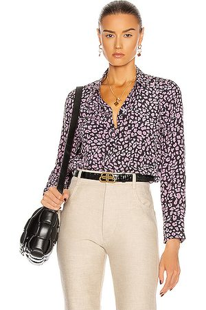 Equipment Leema With Pocket Top in ,Animal Print