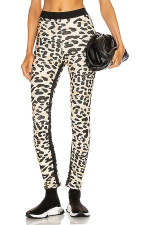 Paco rabanne Printed Legging in Animal Print,Neutral