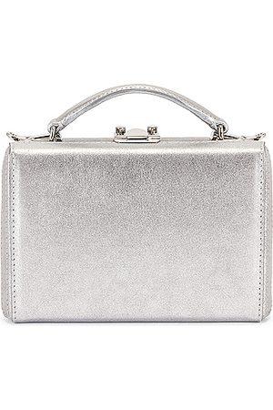 MARK CROSS Mini Grace Metallic Nappa Box Bag in Metallic