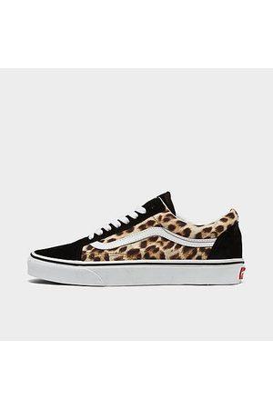 Vans Women's Old Skool Animal Casual Shoes in /Animal Print