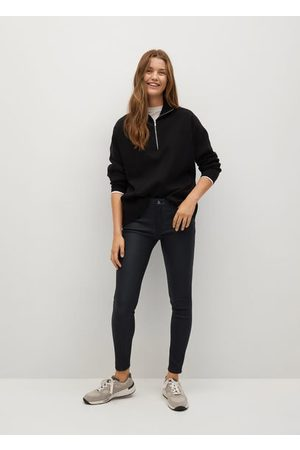 MANGO Women Skinny - Coated Kim skinny push-up jeans