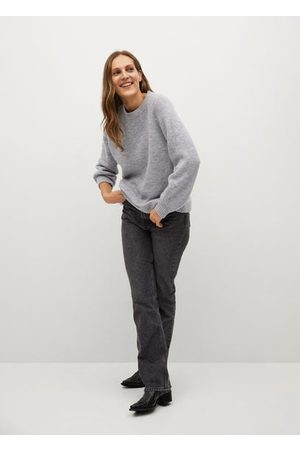 MANGO Women Cardigans - Oversize knit sweater