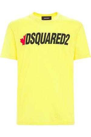 Dsquared2 Logo Print Light Cotton Jersey T-shirt