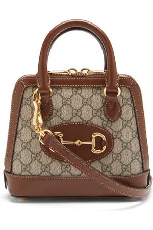 Gucci Women Purses - 1955 Horsebit Gg Supreme Mini Leather Bag - Womens - Multi