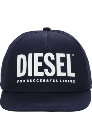 Diesel Cotton Gabardine Baseball Hat