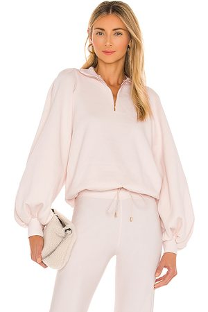 Selkie The Pillow Turtleneck Sweater in Blush.