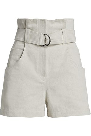 IRO Women's Pirlo High-Rise Shorts - - Size 36 (4)
