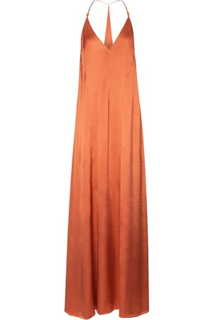 GALVAN Veranda satin slip dress