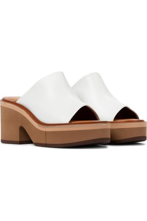 Robert Clergerie Cessy leather platform sandals