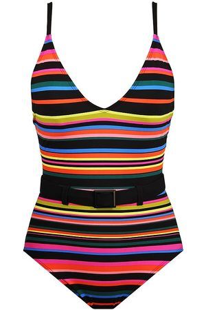 Skinny Dippers Women's Lucky Charm One-Piece Swimsuit - - Size Large