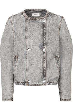 Isabel Marant Lisoa cropped denim jacket