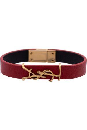 Saint Laurent Women Bracelets - Opyum leather bracelet