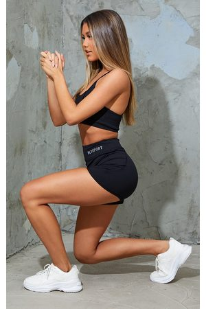 PRETTYLITTLETHING Women Sports Shorts - Sport Sculpt Luxe Booty Shorts