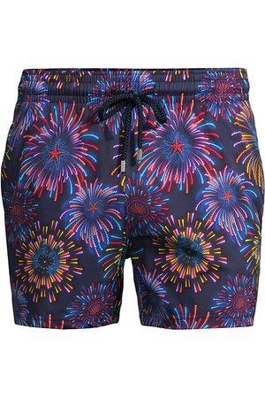Vilebrequin Men's Multi Fireworks Swim Trunks - - Size XXXL