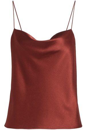 ALICE+OLIVIA Women's Harmon Satin Camisole - - Size Small