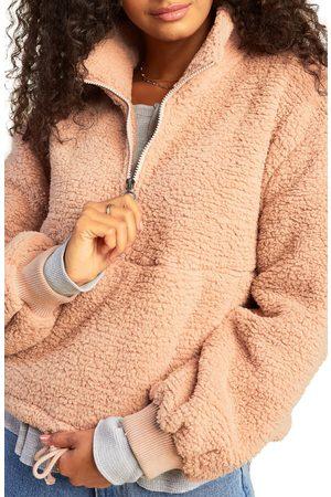 Billabong Women's Time Off Fleece Half Zip Pullover