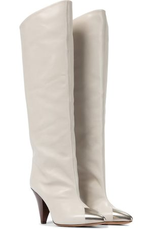 Isabel Marant Lelize leather knee-high boots